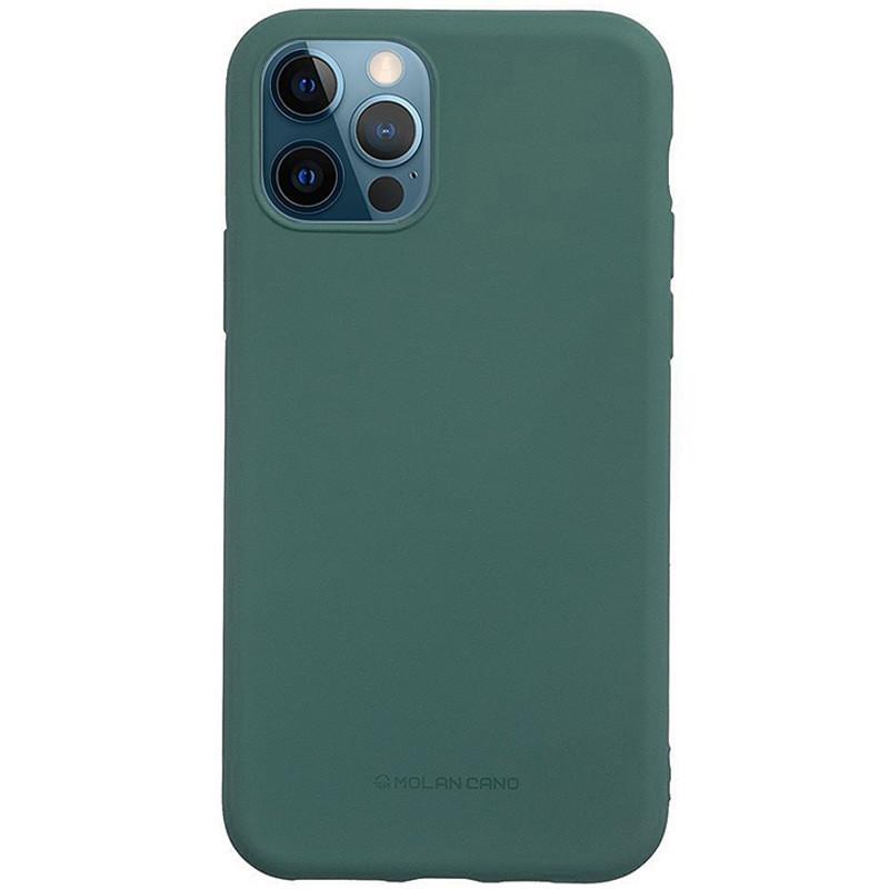 "TPU чехол Molan Cano Smooth для Apple iPhone 12 Pro / 12 (6.1"") Зеленый"