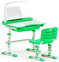 Evo-kids Evo-17 (с лампой) | Детский комплект парта и стул растущие | Парты школьные и детские, фото 3