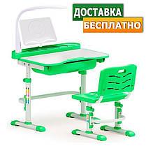 Evo-kids Evo-17 (с лампой) | Детский комплект парта и стул растущие | Парты школьные и детские, фото 2