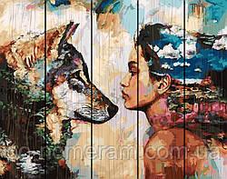 Картина по номерам Rainbow Art Одно целое Димитра Милан (RA-GXT4921) 40 х 50 см