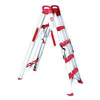 Лестница—стремянка раскладная трансформер 1360 мм Intertool LT—5000