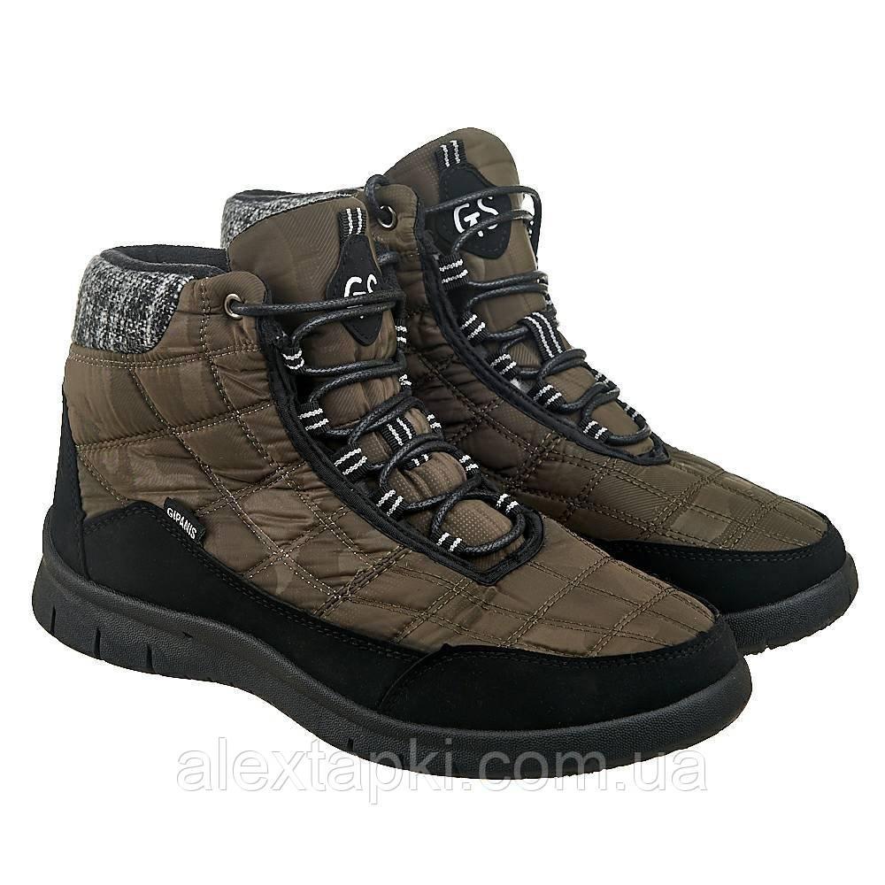 Мужские ботинки Гипанис МА08 ОЛИВКА