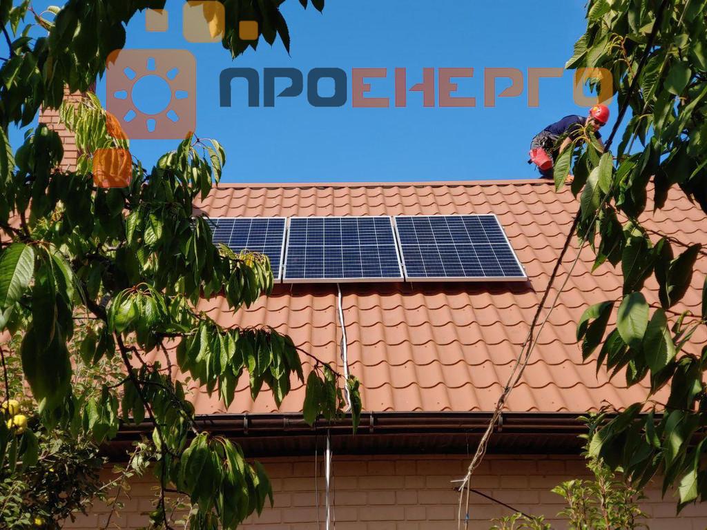 Автономная солнечная станция 2кВт