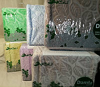 Турецкие теплые пледы покрывало Евро Aksu 220х240 см 6 цветов