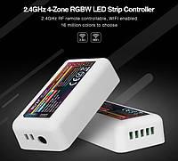 2.4G контроллер RGB+W Miboxer Mi-light FUT038 10А для светодиодных лент. Для 4-х зонных пультов, фото 1