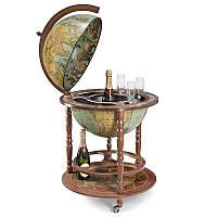 Глобус бар напольный Zoffoli Srl, Италия «Калипсо» (Laduna), h-120см, d -50см (248-0010)