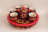 """Набор посуды для чаепития """"Золотой дракон"""" с чайной лодкой, фото 2"""