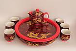 """Набор посуды для чаепития """"Золотой дракон"""" с чайной лодкой, фото 3"""