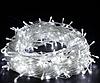 Гирлянда на прозрачном кабеле LED 300 лампочек, фото 2