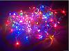 Гирлянда на прозрачном кабеле LED 300 лампочек, фото 3