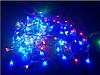 Гирлянда на прозрачном кабеле LED 300 лампочек, фото 4