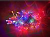 Гирлянда на прозрачном кабеле LED 300 лампочек, фото 5