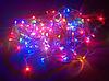 Гирлянда на прозрачном кабеле LED 300 лампочек, фото 7