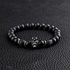 Мужской каменный браслет mod.AGE