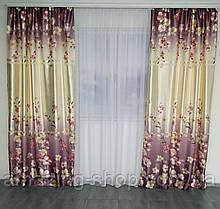 Готовый шторы на окно   Атласные шторы   Качественные шторы на окно   Якісні штори   Шторы в цветы  