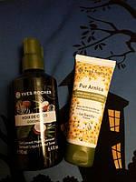 Набор для ухода за кожей рук: Жидкое мыло Кокосовый орех и крем Ив Роше