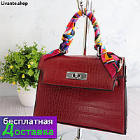 Брендовый женский клатч, мини сумка с клапаном для женщин 2020, сумки через плечо женские модные сумки Красный