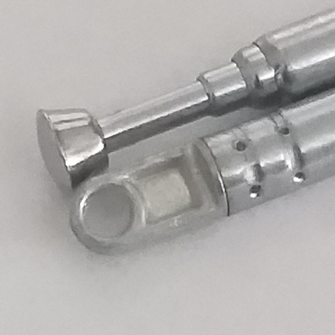 Антенна телескопическая металлическая