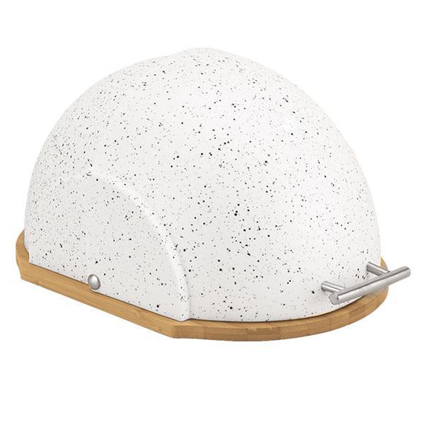 Белая хлебница Maestro 37х20,5х26,5см