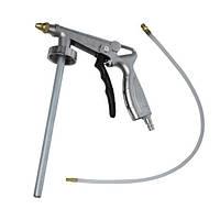 Пистолет под гравитекс пневматический с гибкой насадкой Intertool PT—0703