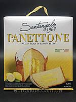 Панеттоне  Santangelo Panettone Alla Crema Di Limoncello c лимонным кремом 908 г