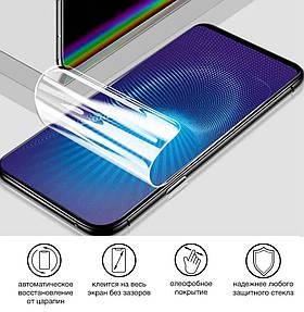 Гидрогелевая пленка для Multilaser MS55M Глянцевая противоударная на экран телефона   Полиуретановая пленка