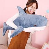 Мягкая игрушка акула Shark doll 60 см, фото 2