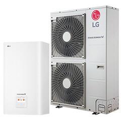Тепловой насос LG Therma V HU141MA.U33 / HN1616.NK3