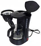 Капельная кофеварка Grunhelm GDC-06 с мощностью 0,6 кВт и объемом отсека 0,6 л, фото 2
