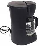 Капельная кофеварка Grunhelm GDC-06 с мощностью 0,6 кВт и объемом отсека 0,6 л, фото 3