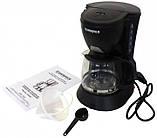 Капельная кофеварка Grunhelm GDC-06 с мощностью 0,6 кВт и объемом отсека 0,6 л, фото 4