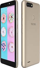 Смартфон TECNO POP 2F (B1F) 1/16GB DS  Champagne Gold MediaTek MT6582 2400 мАч