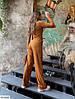 Женский костюм в рубчик двойка (кофта и свободные штаны), фото 2