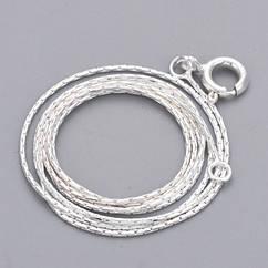 Ожерелье из Серебра 925, Цепь, Застежка Пружинное Кольцо, Размер: Цепь 47.5см, (УТ100022229)