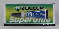 Zollex Супер клей SuperGlue 3г.