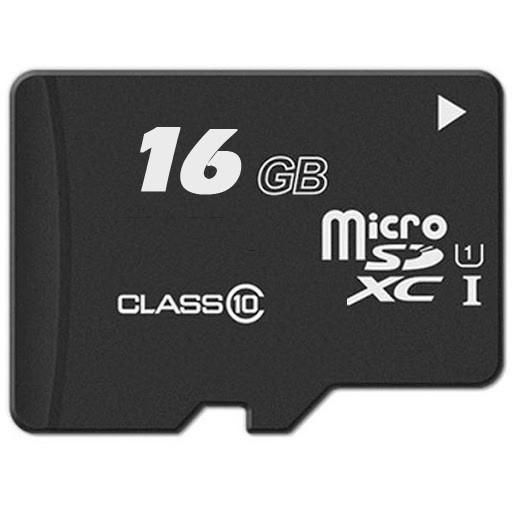 Картa памяти Micro SDHC card 16 Gb флешка на 16 гига