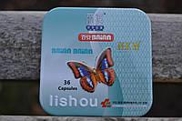 Капсулы (Lishou) Лишоу для похудения в железной банке 36 капсул
