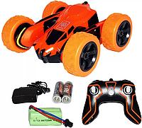 Детская машина Перевертыш аккум на пульту управления оранжевая HB-NB2803 (ORANGE)