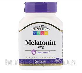 21st Century Melatonin 3mg (90tab)