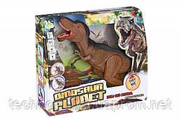 Динозавр Same Toy Dinosaur Planet коричневый со светом и звуком (RS6123AUt)