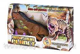 Динозавр Same Toy Dinosaur Planet коричневый со светом и звуком (RS6133Ut)