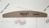 HEART Пилка Platinum 180/240 half/полукруг