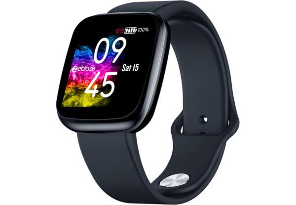 Умные часы  Smart Watch Zeblaze Crystal 3 Black счетчик калорий, шагомер, пульсометр