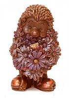 Подарочный шоколад. Ежик с ромашками