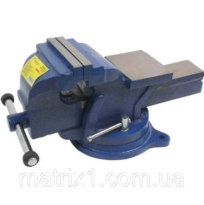 Тиски слесарные поворотные с наковальней 100 мм, 7 кг  PROFI 47127