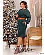 Платье женское повседневное офисное миди, фото 2