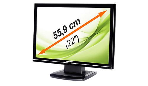 """Монитор 22"""" Medion MD-20122-1680x1050-TFT TN- (царапины и подсев экран) -УЦЕНКА- Б/У"""