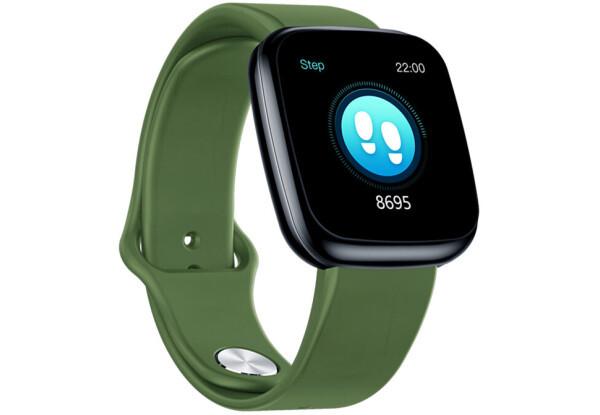 Умные часы  Smart Watch Zeblaze Crystal 3 Green  счетчик калорий, шагомер, пульсометр