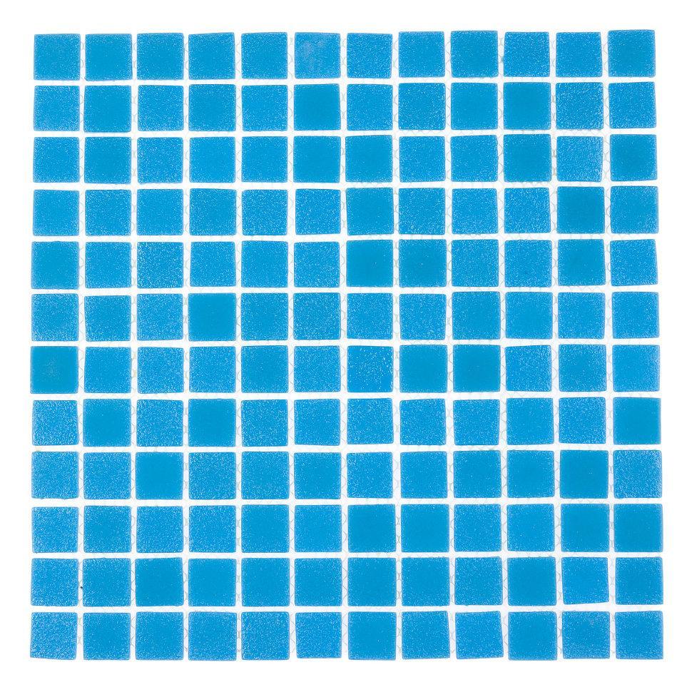 Стеклянная мозаика Concrete Sky Blue АкваМо