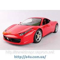 Машинка на радиоуправлении Rastar Ferrari 458 Italia (1:14) красная